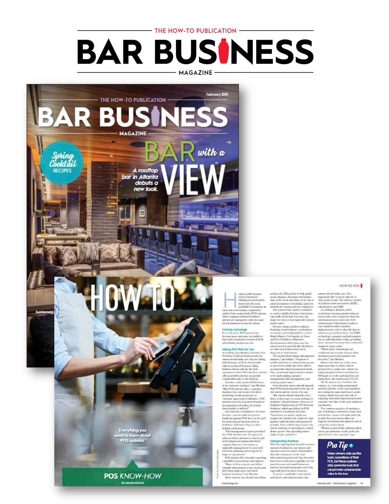 Bar Business Magazine features CPT Network Solutions